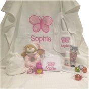 Baby Girl Personalised Hampers
