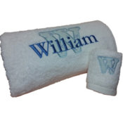 Bath Towels Personalised