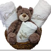 Personalised Hamper, Mum, Dad and Me