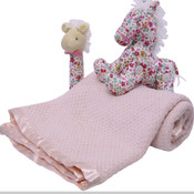 Baby's First Blanket and Pony Set