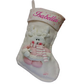 Personalised Christmas Stocking - Snowman