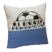 Personalised Soccer cushion