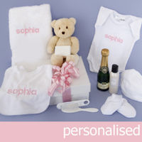 My Delux Unique Embroidered Gift Hamper includes Teddy Thumbnail
