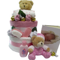 Beautifully for Baby Nappy Gift Cake Thumbnail