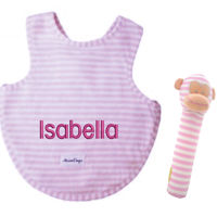 Personalised bib with Squeaker Thumbnail